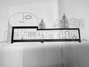 När hembygdsföreningen sade nej till Kokillen var det  byggnadens storlek, höjd och närhet till befintliga byggnader som var avgörande, enligt Rita Södergård.