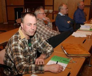 Mikael Säbom (SD), kandiderar till fullmäktige trots att hans namn inte finns med på den tryckta listan i Strömsund.