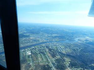Så här ser Maine ut från luften