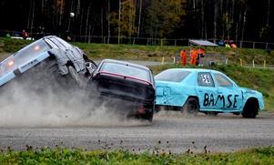 Action på en tidigare tävling i Ö-vik.