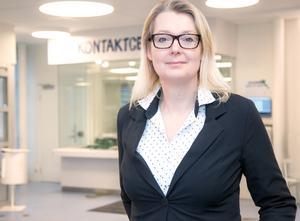 Lina Axelsson Kihlblom, chef på barn- och utbildningsförvaltningen i Nynäshamns kommun.