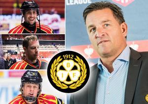 Aaron Palushaj, Kevin Clark och Adam Boqvist – vad händer med dem till nästa säsong? Foto: Bildbyrån.