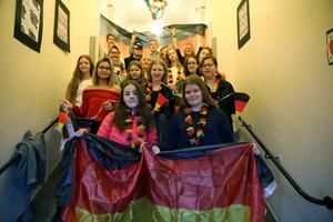 Deutsch- elevernas va l i Orsa.