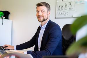 Markus Wengelin vill arbeta med tillväxt inom andra företag.