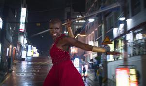 Danai Gurira spelar krigaren Okoye i