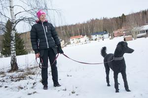 Johanna Sandström och Hero.