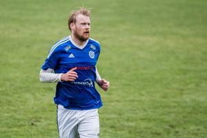 Jesper Karlsson, spelande tränare i Delsbo.