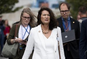 Sveriges utrikesminister Ann Linde (S).