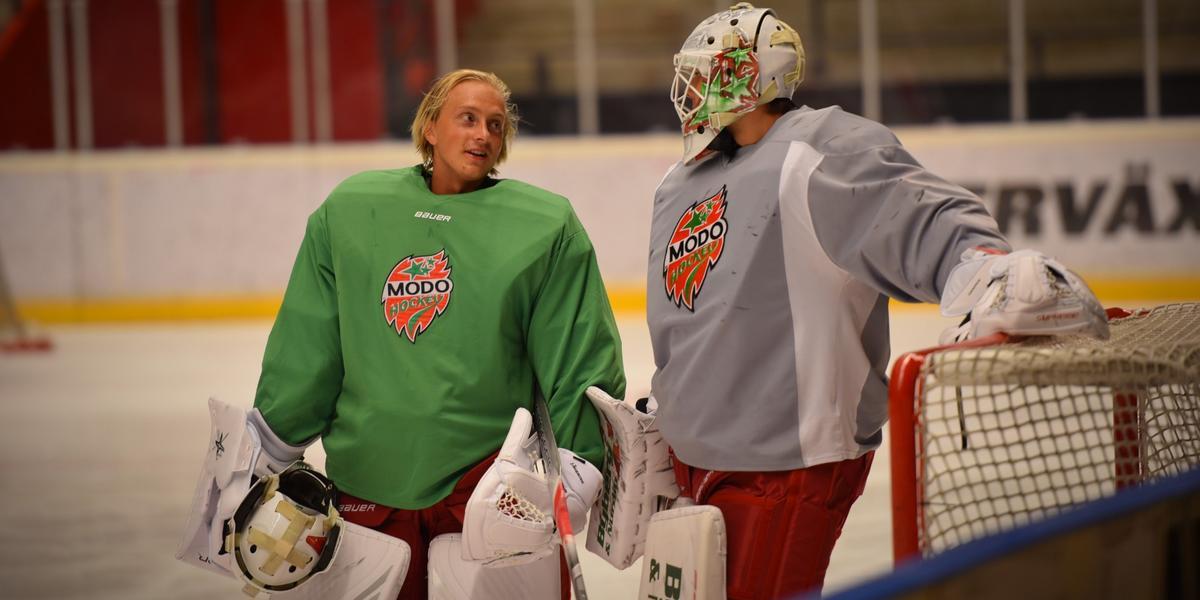 Modomålvaktens karriärdrag – går till topplag i hockeyettan: