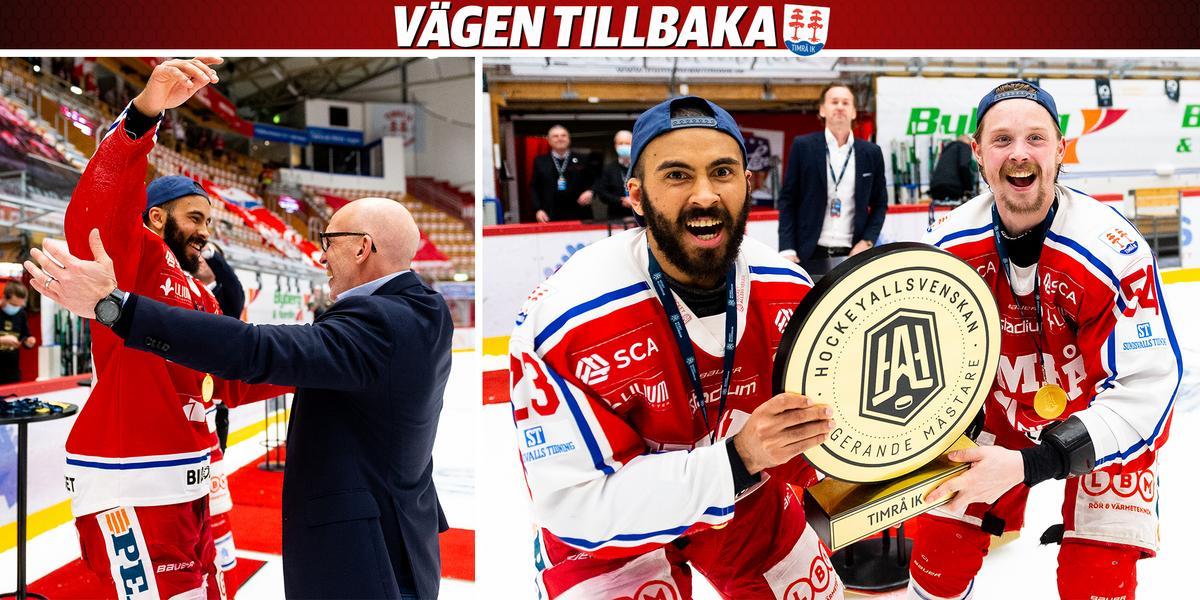"""Klubbikonen Jeremy Boyce om framtiden i Timrå IK och hälsningen till supportrarna: """"Man vill bara ge tillbaka"""""""