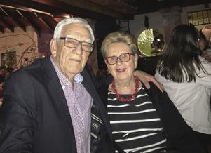 Åke och Lillemor Nyberg. Bilden är tagen i Mexico, där de