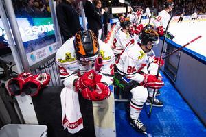 Sakari Salminen gjorde två viktiga mål mot HV71 i tisdags. Mot Luleå blev han utan poäng. Bild: Simon Eliasson/Bildbyrån