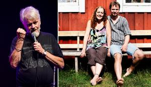 Ronny Eriksson (t.v) är en  av akterna som kommer till Karin Eklund och Mats Dahnes spelställe i Älandsbro i sommar.