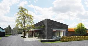 Ny vändning. Folkets hus entré kommer att vändas österut mot Lönngatan. Illustration: Håkan Bjurström/Clarus arkitekter