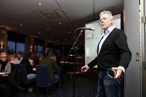 Ulf Öberg från Företagarna berättade om en ny form av arbeta som var mer effektiv och rolig.