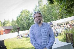 –Ett bra sätt att lyfta fram världsarvsgården och Jan Johansson, tyckte Anders Uddén, arrangör.