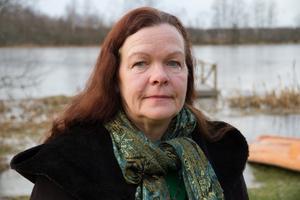 """Gunilla Berglund, Centerpartiets gruppledare i Avesta, tycker att den viktigaste politiska frågan idag är hela jordens väl och ve. """"Klimat och krig och fred, det måste bli bättre förhållanden för fler människor"""", säger hon."""