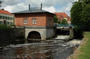 Turbinhuset i Västerås, skälet till att Asea förlade sin verksamhet i staden. Foto: Christer Johansson