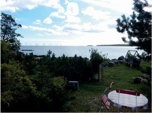 En bild som visar hur det kan se ut från Norrsundet, enligt företaget. Bild: Svea Vind Offshore