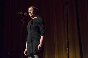 Maria Alinder är lärare vi Estetprogrammet i Leksand och är sorgsen inför den sista showen.