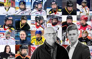 Hockeypuls Erik Sandberg och Adam Johansson utser här SDHL:s 25 bästa spelare denna säsong. Foto: SIMON ELIASSON MFL / BILDBYRÅN.
