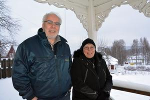 Dockstaborna Hans Hedlund och Karin Frölander.