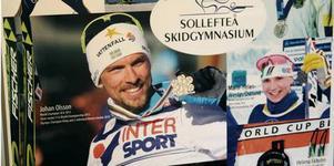 Många stora skidstjärnor har passerat genom Sollefteås skidgymnasium under åren. Foto: Jonny Dahlgren/arkiv