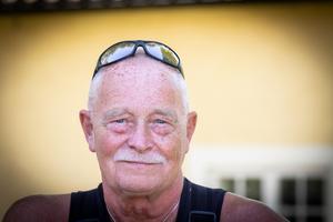 Lasse Knutson höll på att mista ett ben för 24 år sedan. Foto: Lennye Osbeck