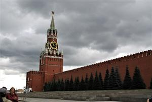 Från Röda Torget i Moskva.