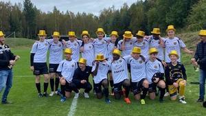 Gnosjö IF:s juniorlag vann serien – passerade Waggeryd i sista omgången
