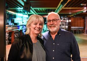 Maria Karlsson, 55, och Torgny Högdahl, 56.