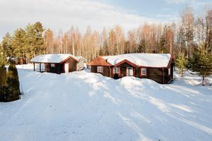 Jugen Jons väg 56 i Mora. Foto: Länsförsäkringar Fastighetsförmedling Mora - Orsa