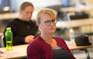 Åsa Wikberg(MP) och Miljöpartiet i Ludvika vill stoppa majoritetens planer på att flytta en bilverkstad till Hammarbacken.