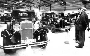 Algot och Lars Jonsson från marieby gick på  veteranbilsutställningen 1985 och kollade bland annat in en Chrysler Six CM -31 som ägdes av Göran Bruman, Bräcke.