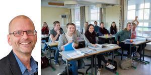 Mats-Olof Liljegren skriver om Liberalerna förslag till finansiering av gymnasieskolan. Där är risken mindre att rektor ser varje gymnasieelev som en pengapåse. Fokus sätts på uppdraget mer än på individen. Foto: Berit Roald/TT