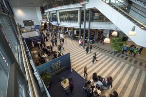 Gymnasiemässan, med både skolor från Gävle och Sandviken representerade, höll till i Monitor ERP Arena.
