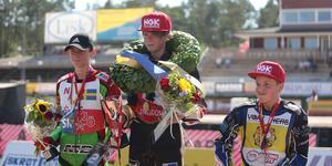Topp-3 i USM: 1:a William Bäckström, Smederna, 2:a Lucas Woentin, Nässjö SK, 3:a Eddie Bock, Örebro SF.