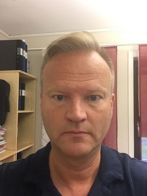 Dag Sundeman, kyrkogårdschef vid Svenska kyrkan Östersund.