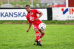 Jakob Eklund från en match på Silvervallen 2006.