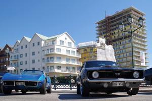 Med nybygget i hamnen kommer showen ännu närmare stadskärnan och det vackra Norrtälje, säger Anders Jonsson. Foto: från American Car Show Norrteljes hemsida