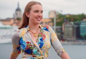 Nelly Ekermark söker kärleken i säsongsavslutningen av TV4:s dejtingprogram Flirty dancing.