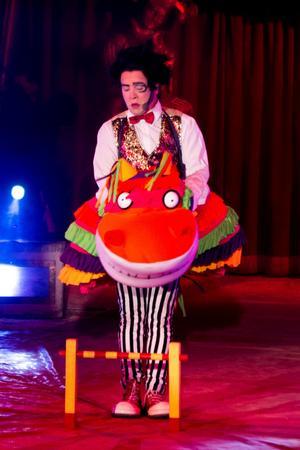 Brazil Jack är numera djurfri. Förutom clownen Emilianos flodhästkostym då.
