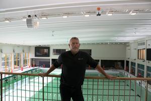 Arenachef Hasse Bergqvist.