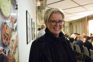 Annika Bergström, koordinator på kultur och fritidsförvaltningen, anordnade ceremonin.