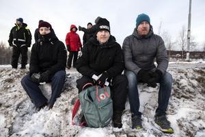 Jonas och Tommy Ödmark från Järved tillsammans med Petter Mårtensson från Örnsköldsvik.