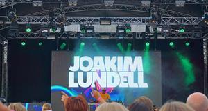 Joakim Lundell var första namnet på scen.