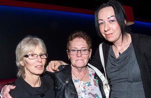 Christina Holmlin, Anita Eriksson och Beatrice Larsson från Borlänge.