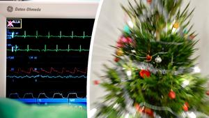 Antalet hjärtinfarkter ökar under julhelgerna jämfört med vanliga veckohelger, skriver Kristina Sparreljung, generalsekreterare Hjärt-Lungfonden.
