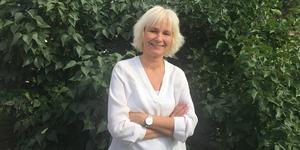 """""""Jag är stolt och glad"""".  Det säger Lillan Hedlund, ny chefredaktör på Länstidningen."""