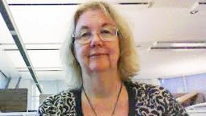 Britt-Louise Bergström, SJF-representant.